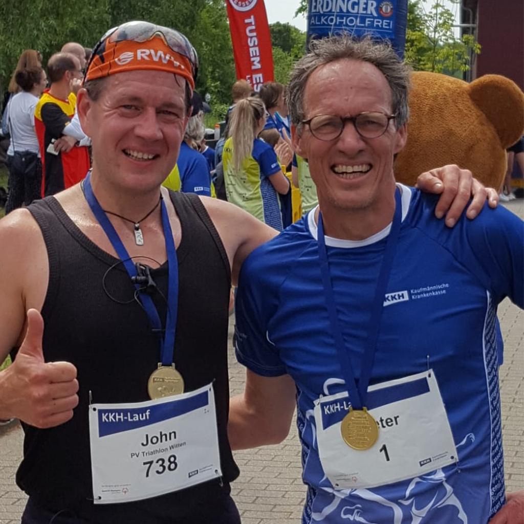 Mit Olympiasieger Dieter Baumann!